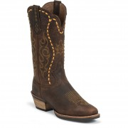 Justin Boots Copper Kettle Buffalo
