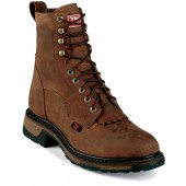 Tony Lama Tan Cheyenne Steel Toe