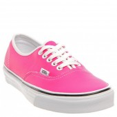 Vans Authentic Neon Leather