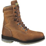 Wolverine 8in Durashocks Waterproof Steel Toe Insulated