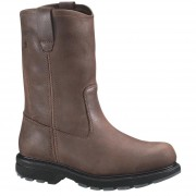 Wolverine 10in Wellington Slip Resistant Steel Toe