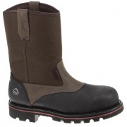 Wolverine 10in Drillbit Oil Rigger Waterproof Steel Toe EH Wellington