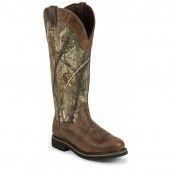 Justin Original Work Rugged Tan Stampede Waterproof