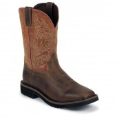 Justin Original Work Rugged Tan 11inch Non-Safety Toe
