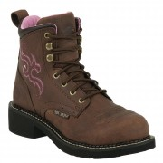 Justin Original Work Aged Bark Steel Toe Gypsy