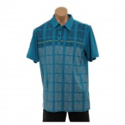 adidas ClimaCool Window Pane Print Polo