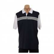 adidas Golf Men's CLIMACOOL 3-Stripes Colorblock Polo