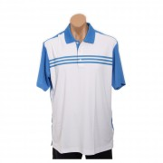 adidas Golf Men's CLIMACOOL? 3-Stripes Colorblock Polo