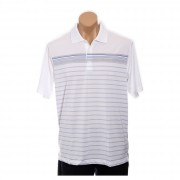 adidas Golf Men's CLIMACOOL? WB Engineered Stripe Polo