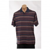adidas Golf Men's CLIMACOOL? Merchandising Stripe Polo