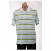 adidas Golf Men's CLIMALITE? Bar Stripe Polo