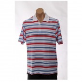 adidas ClimaLite Bar Stripe Polo