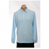 adidas Golf Men's CLIMALITE? LS Stretch Pique Polo