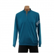 adidas Golf Men's CLIMALITE? 3-Stripes Pullover