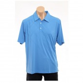 adidas Golf Men's CLIMACOOL? Diagonal Plaid Polo