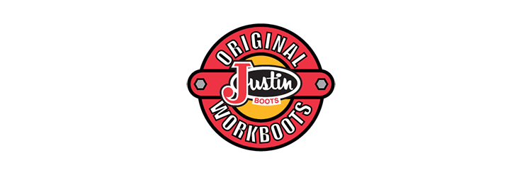 Justin Boots Logo  LOGOSURFERCOM
