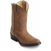 Justin Boots Bay Westerner (Youth)