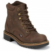 Justin Boots Rugged Bay Gaucho Cow (Toddler / Youth)