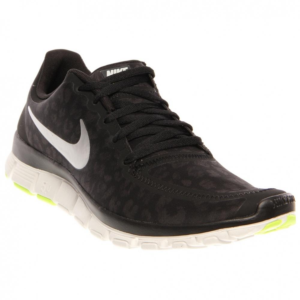 6dc960818cd4 Nike Free 50 V4 Barefoot Running Gray Black Shoes