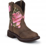 Justin Boots Aged Bark 8in