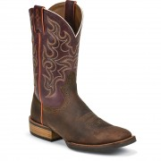 Justin Boots Copper Kettle Cow